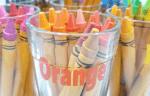 DIY Crayon Holder Carousel And Free Cut File