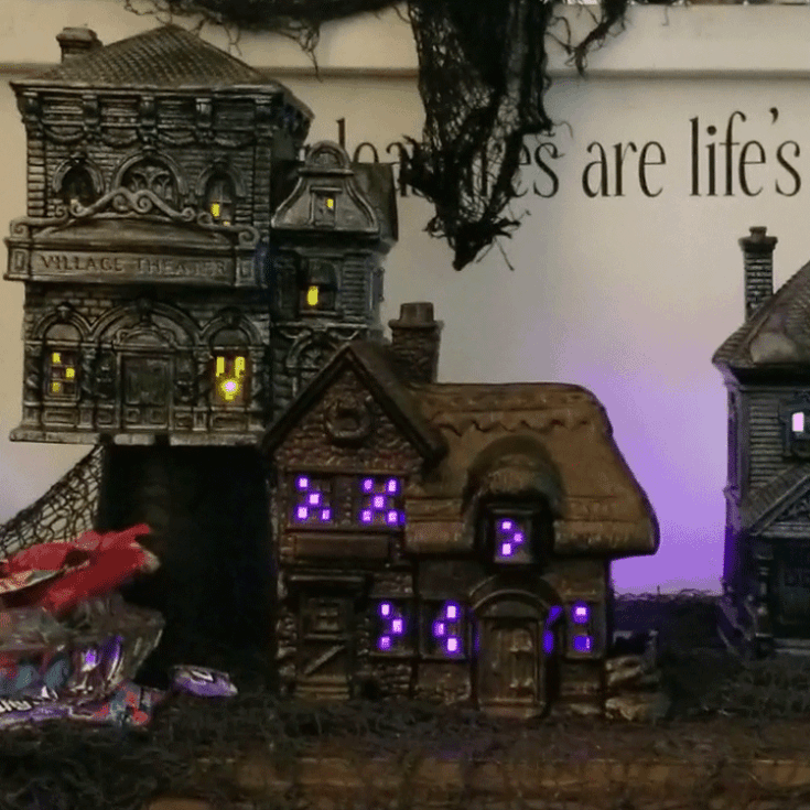 How To Create A Spooky Halloween Village Set