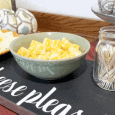 Cheese Please wood party serving tray for holidays and events