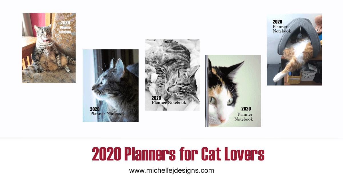 cover pics for the 2020 planner notebooks
