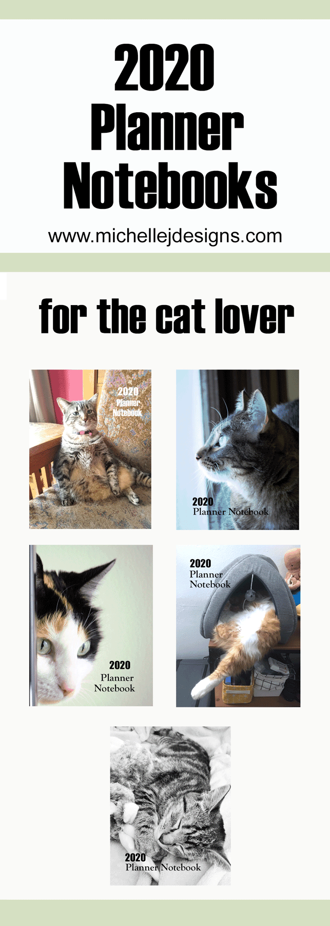 Images of 2020 Cat Planner Books