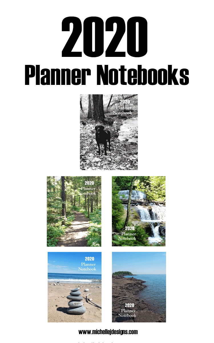 Images of 2020 Planner Notebook Covers