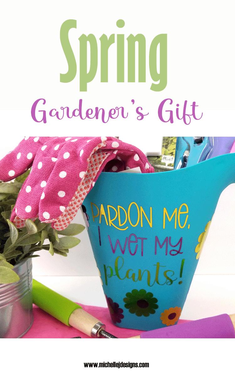 Garden Gift Basket DIY Idea