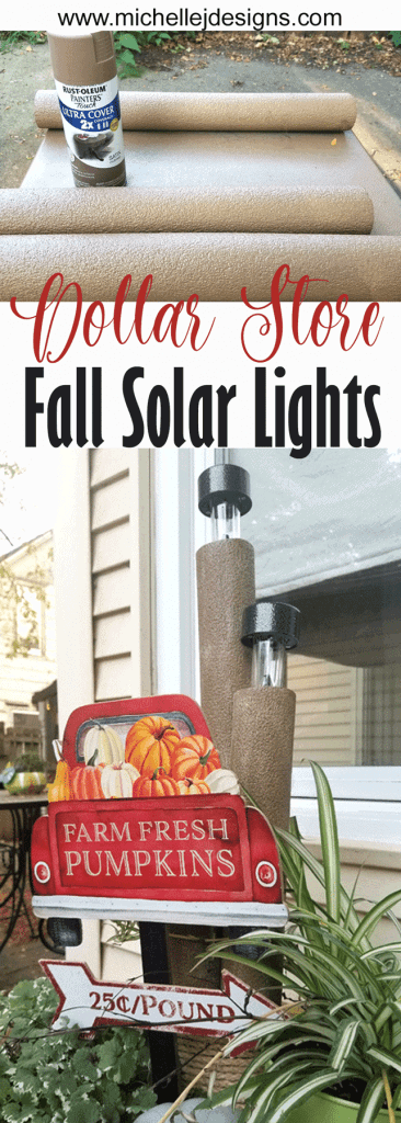 Finished Solar Light Decor