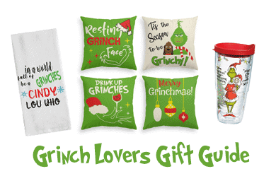 featured image showing some Grinch Amazon products