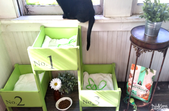 how-to-make-a-pretty-diy-cat-bed-from-old-drawers