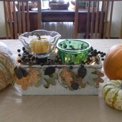 Thanksgiving Decor - Shades of Autumn - www.michellejdesigns.com