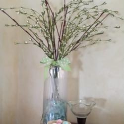 DIY Frosted Vase - www.michellejdesigns.com