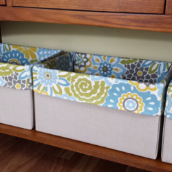 Organization Boxes from Diaper Boxes - www.michellejdesigns.com