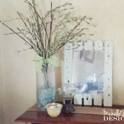 DIY Frosted Vase - www.michellejdesins.com