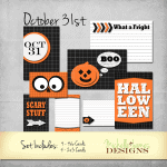 October 31 – Project Life Cards