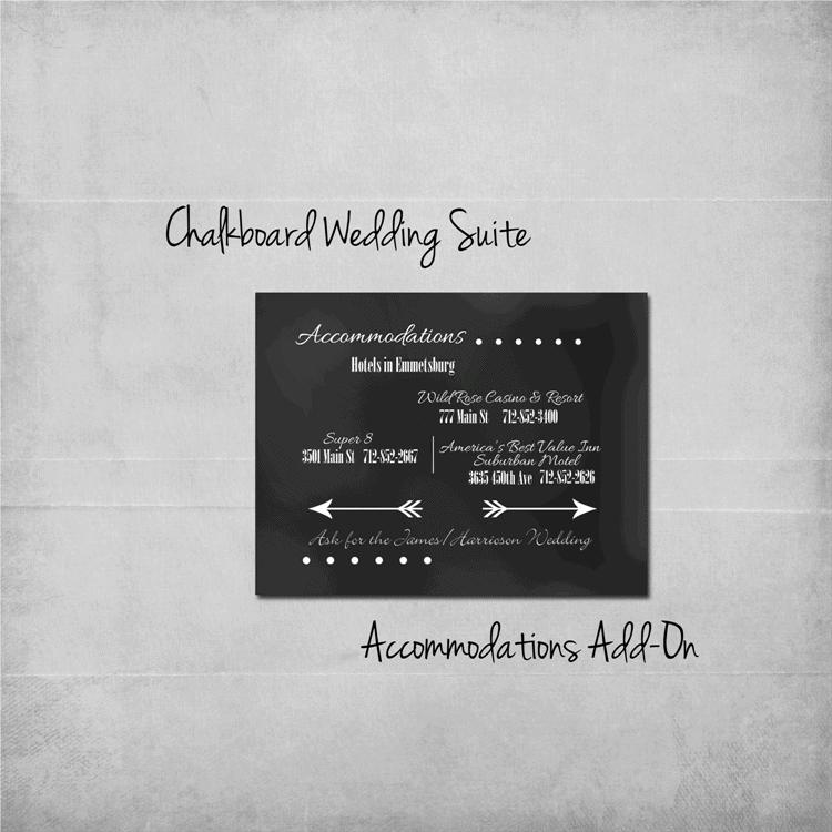 chalkboard-wedding-suite-accommodations-add-on