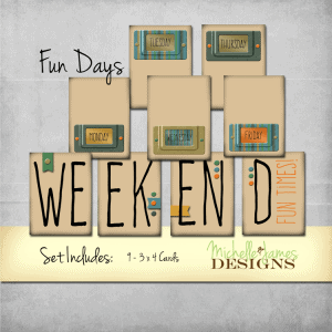 Days of the Week Kit - www.michellejdesigns.com