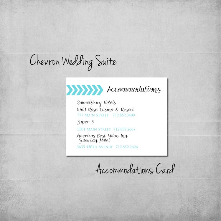 chevron-wedding-accommodations-add-on
