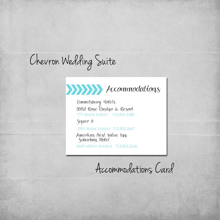 chevron-wedding-accommodations-add-on