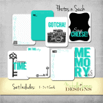 Photos n Such Kit – Project Life/Pocket Pages