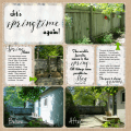 Spring time Kit - www.michellejdesigns.com - The subtle colors create a nice compliment to your outdoor spring photos