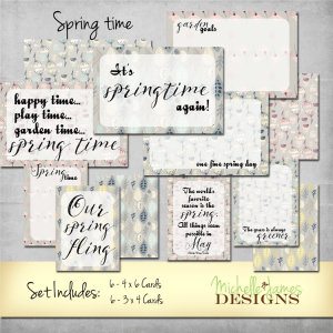 Sprintime Kit - www.michellejdesigns.com - The subtle colors create a nice compliment to your outdoor spring photos