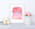 Valentines Day Watercolor Printables